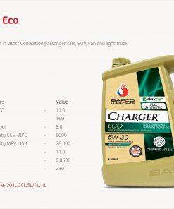 Bapco Charger ECO 5W-30 4L